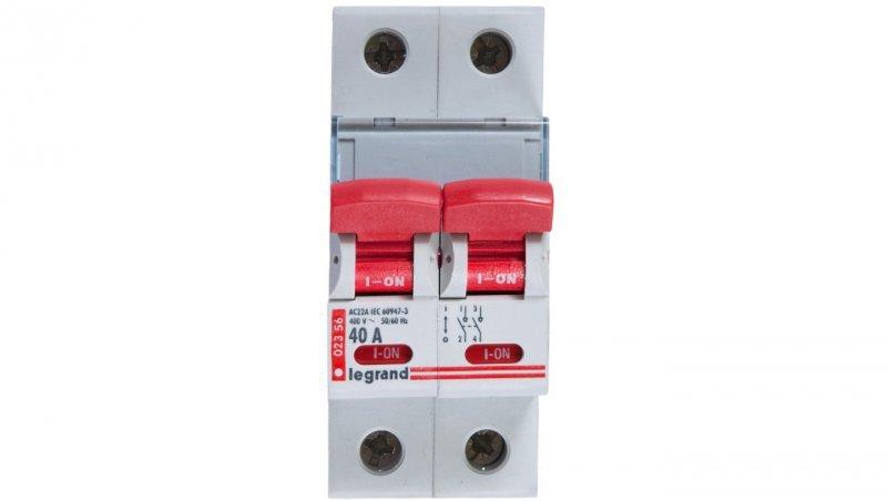 Rozłącznik modułowy 40A 2P FRX302 406527