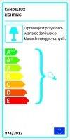 HEXAGEN ZWIS 42 1X60W E27 ZIELONY (ABAŻUR 77-01658+LINKA 85-10608)