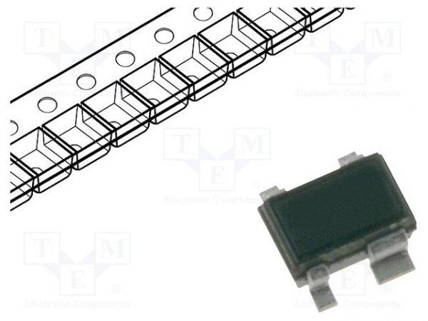 Dioda: przełączająca; SMD; 85V; 0,2A; Opakowanie: rolka,taśma