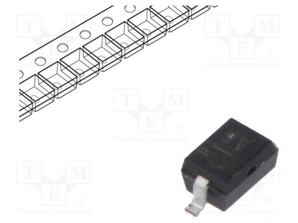 Dioda: przełączająca; SMD; 100V; 250mA; 4ns; SOD323,SC76; Ifsm: 4mA