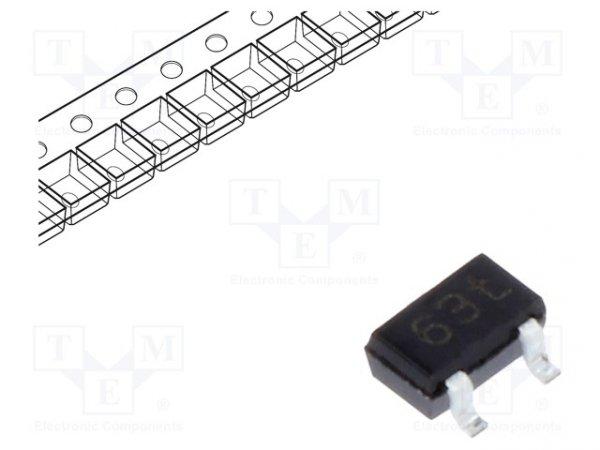 Dioda: prostownicza Schottky; SMD; 40V; 0,12A; SOT323