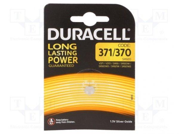 Bateria: srebrowa; 1,55V; 370,pastylkowa; Ø9,5x1,95mm