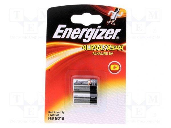 Bateria: alkaliczna; 6V; 4LR44; Il.bat: 2; Ø13x25mm; nieładowalna