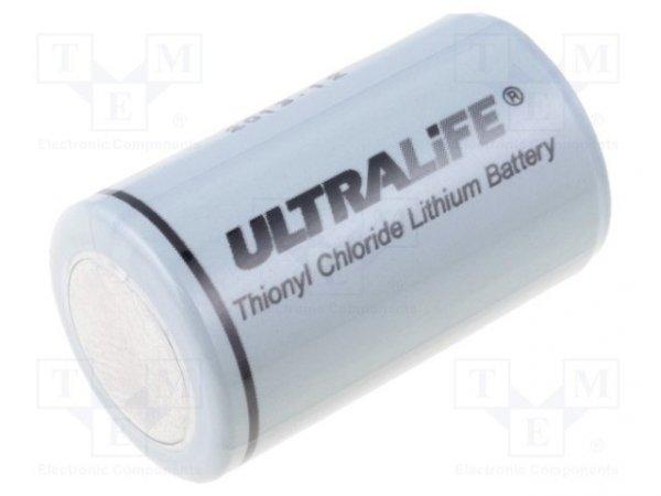 Bateria: litowa; 3,6V; 1/2AA; Ø14,5x25mm; 1200mAh; nieładowalna