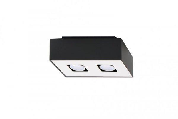 Plafon MONO 2 Czarny