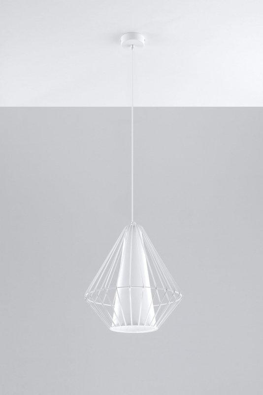 Lampa Wisząca DEMI Biała