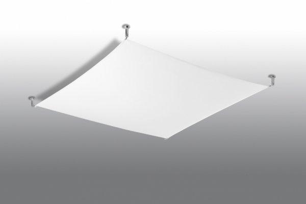 Plafon LUNA 4 biały