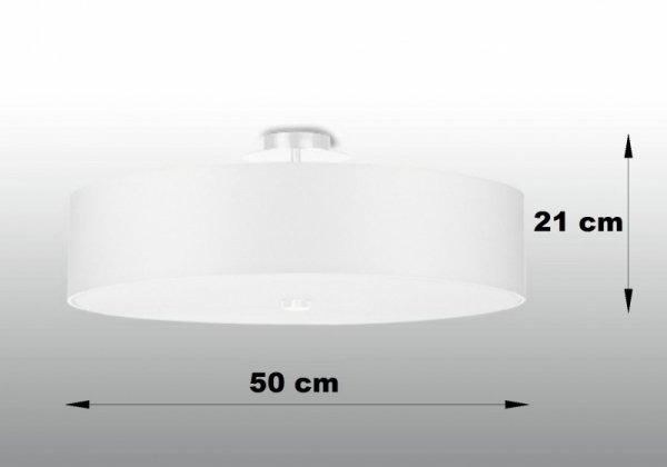 Plafon SKALA 50 biały