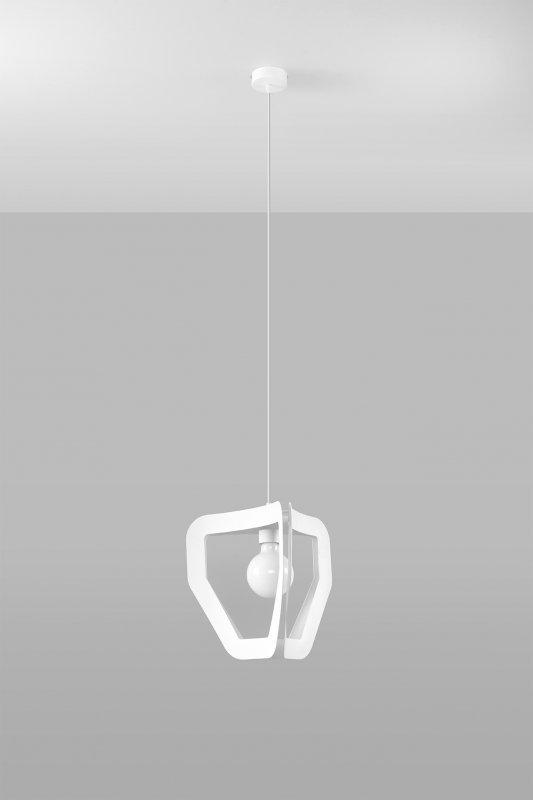 Lampa wisząca TRES biała