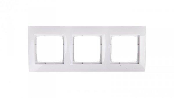 Simon 54 Premium Ramka potrójna biała /do karton-gips/ DRK3/11
