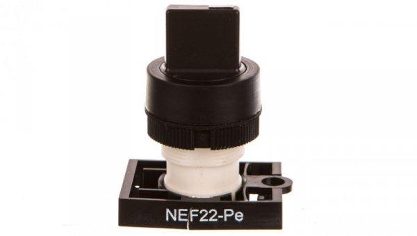 Napęd przycisku NEF22-PE S fi22 czarny W0-N-NEF22-PE S