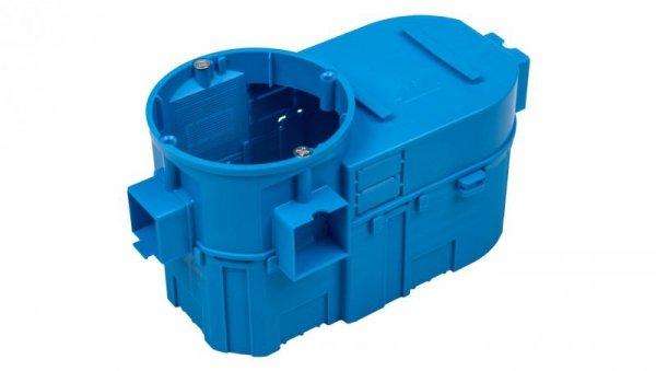 Puszka podtynkowa podwójna 60mm głęboka niebieska SE2x60G 34159203
