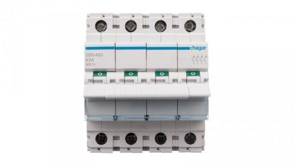 Rozłącznik modułowy 63A 4P SBN463