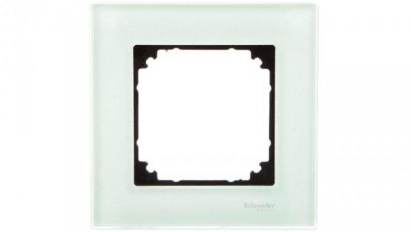 Merten M-Elegance Ramka pojedyncza szklana szmaragdowy MTN404104