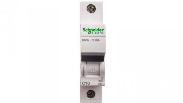 Wyłącznik nadprądowy 1P C 10A 6kA AC K60N A9K02110