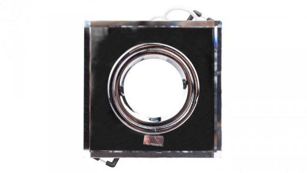 Oprawa punktowa 1x50W Gx5,3 12V IP20 MORTA CT-DSL50-SR szkło srebrna 18512
