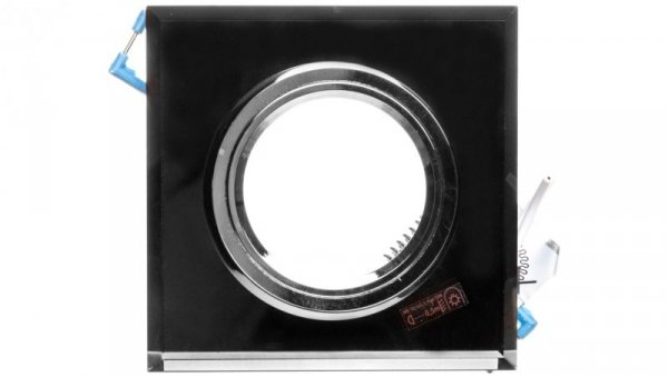 Oprawa punktowa 1x50W Gx5,3 12V IP20 MORTA CT-DSL50-B szkło czarna 18510
