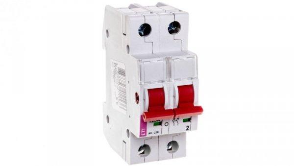 Rozłącznik modułowy 125A 2P 400V SV 2125 002423217