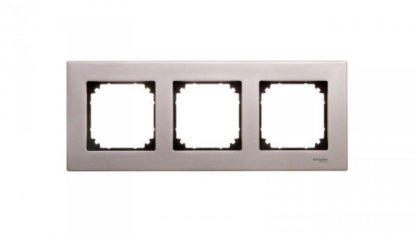 Merten M-Elegance Ramka potrójna metalowa tytan MTN403305