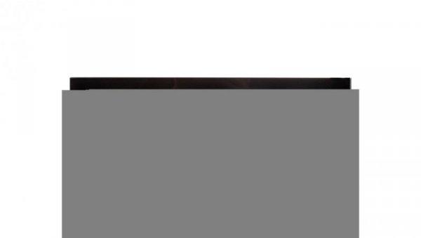 Simon 82 Ramka poczwórna pozioma szklana czarna/ ramka pośrednia grafit 82847-32