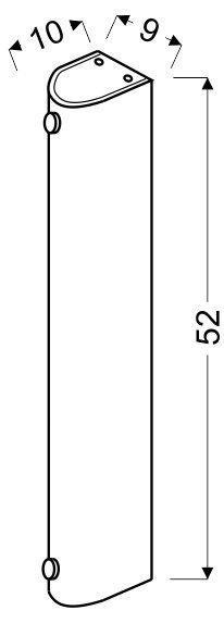 ABREGO PLAFON 52/10 3X60W E27