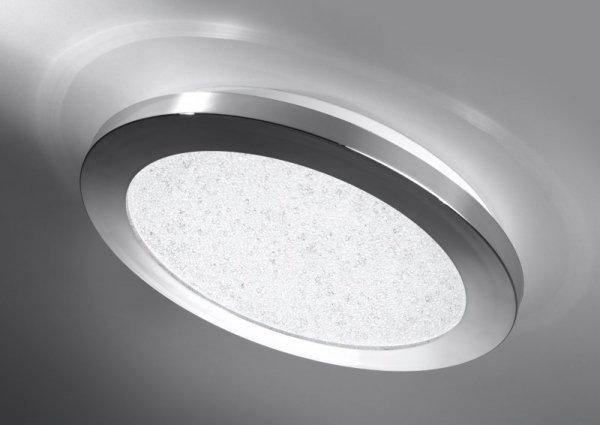 PIXEL PLAFON 22,5 12W LED IP44 CHROM+GRANILA 3000K