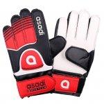 Rękawice Asadi Junior czerwony 6
