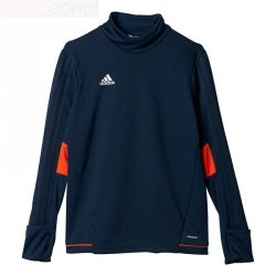 Bluza adidas Tiro 17 TRG TOP BQ2762 granatowy 140 cm