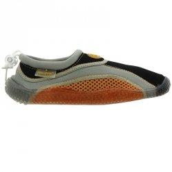 Buty plażowe neoprenowe dziecięce pomarańczowy 33