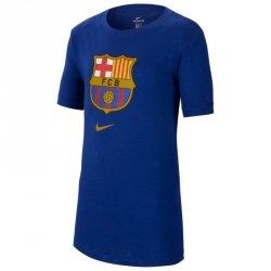 Koszulka Nike FC Barcelona B NK Tee Evergreen Crest CD3199 455 XL (158-170cm) niebieski