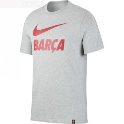 Koszulka Nike FC BARCELONA  CD0398 063 S szary
