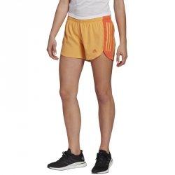 Spodenki adidas Run It Short GM1589 pomarańczowy M