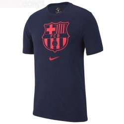 Koszulka Nike FC Barcelona CD3199 492 L (147-158cm) niebieski