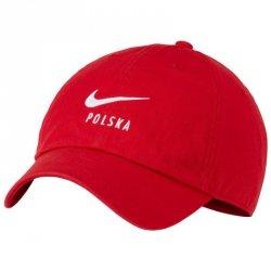 Czapka z daszkiem Nike Polska CU7540 611 czerwony misc