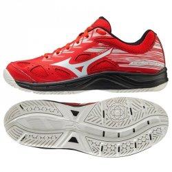 Buty do piłki ręcznej Mizuno STEALTH STAR JR X1GC210763 38 czerwony