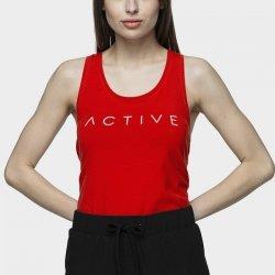 Koszulka 4F H4L21-TSD024 62S czerwony XS