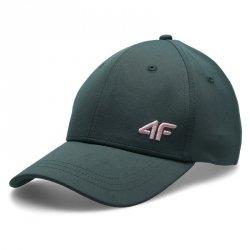 Czapka z daszkiem 4F H4L21-CAD002 46S zielony M