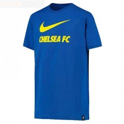 Koszulka Nike Chelsea FC Big Kids' Soccer T-Shirt CW4083 480 M (137-147cm) niebieski