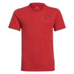 Koszulka adidas Manchester United Kids Tee GR3881 czerwony 164 cm