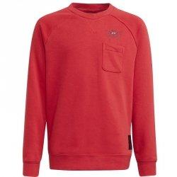 Bluza adidas Manchester United Kids Crew Sweat GR3885 czerwony 164 cm