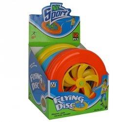 Zabawka frisbee 22 cm z otworami