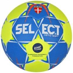 Piłka ręczna Select Keto  EHF 3840850251 2 żółty