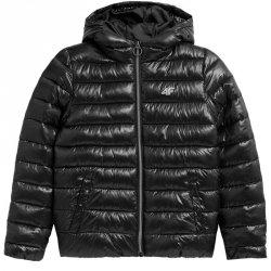 Kurtka zimowa 4F HJZ21-JKUMP001 21S czarny 134 cm