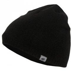 Czapka zimowa 4F HJZ21-JCAM010 20S czarny one size