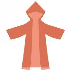 Płaszcz przeciwdeszczowy Olex duży mix kolorów