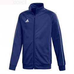 Bluza adidas CORE 18 PES JKTY CV3577 granatowy 128 cm