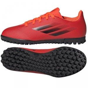 Buty adidas X Speedflow.4 TF J FY3327 czerwony 32