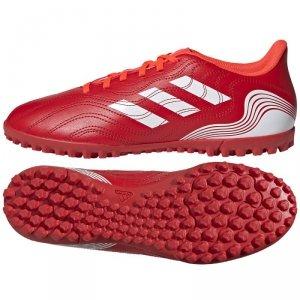 Buty adidas Copa Sense.4 TF FY6179 czerwony 43 1/3