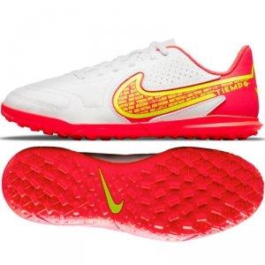 Buty Nike Jr. Tiempo Legend 9 Club TF DA1334 176 biały 36 1/2