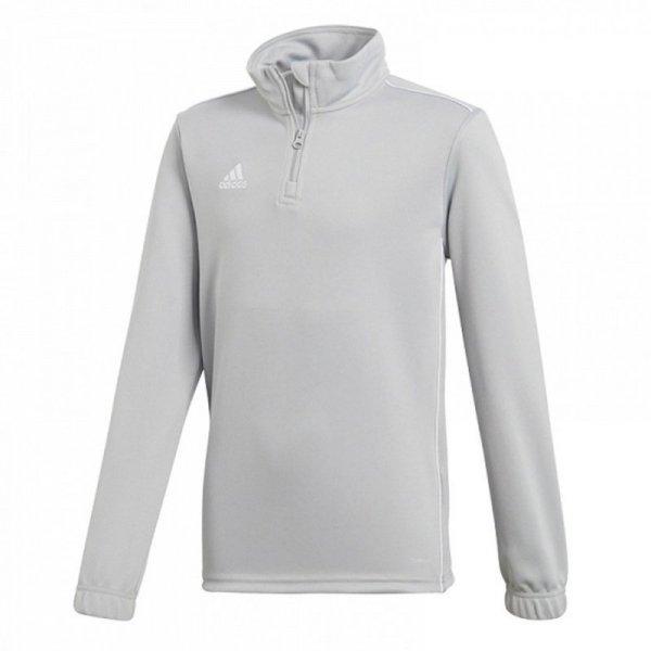 Bluza adidas CORE 18 TR TOP CV4142 szary 116 cm
